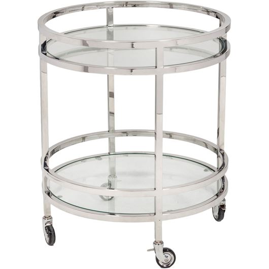 Picture of TRO trolley 60x60 clear/stainless steel