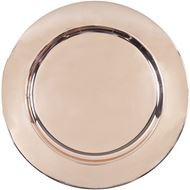 Picture of ALANI charger plate d33cm copper