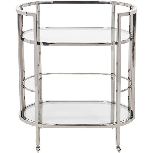 Picture of ALV trolley 70x44 clear/stainless steel