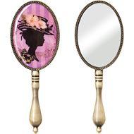Picture of BELLA hand mirror 20x7cm purple