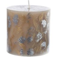 Picture of CALICO candle h9cm gold