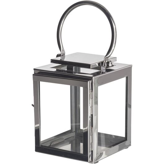 Picture of CORA lantern h23cm stainless steel