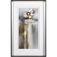 Picture of Framed Print Treasures II 51x82 black/silver