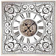 Picture of HARUKO clock 82x82 clear/silver