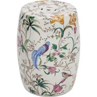 Picture of JADZIA stool d32cm multicolour
