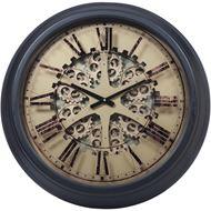 Picture of KIKU clock d67cm black/gold