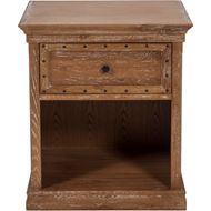 Picture of MAZO bedside table brown