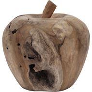 Picture of MELROSE apple decoration h28cm natural