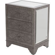 Picture of NYLA bedside table brown