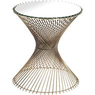 Picture of TWISTLE side table d44cm brass