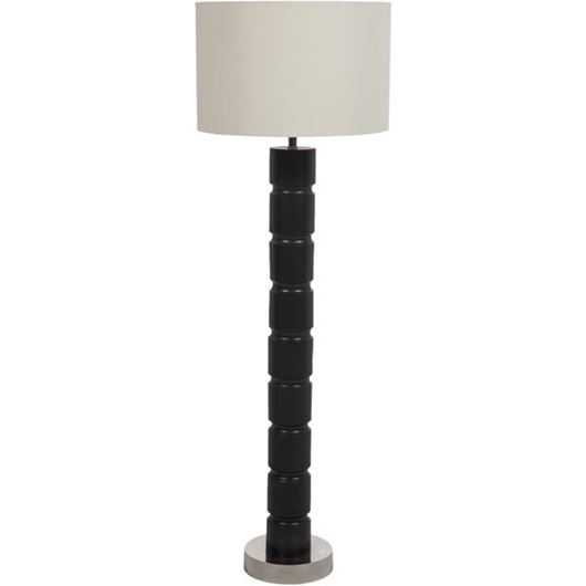 Picture of NIMMY floor lamp h150cm cream/black