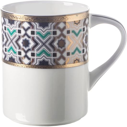Picture of KENRIC mug blue/gold