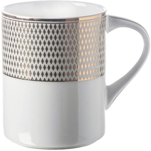 Picture of ORLIE mug white/gold