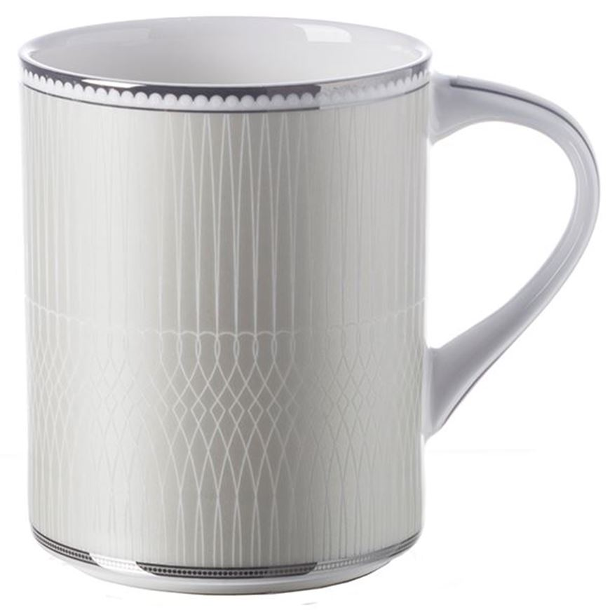 Picture of RUBEEN mug white/silver