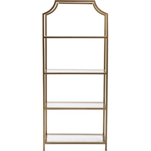 Picture of SKYLO display unit 183x76 brass/clear