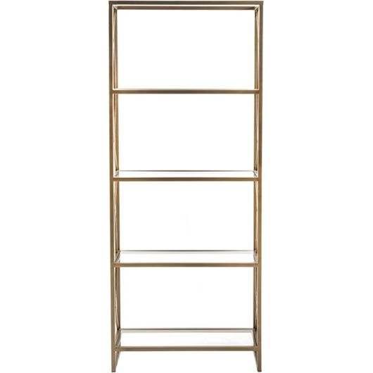 Picture of WESTON display unit 183x76 brass/clear