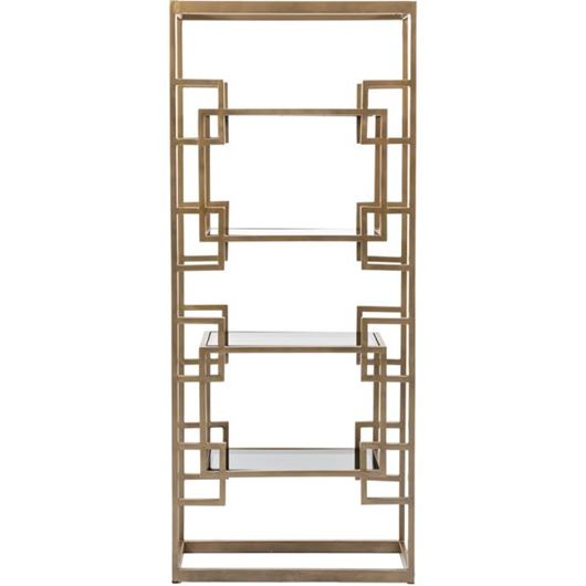 Picture of MALLORY display unit 183x76 brass/black