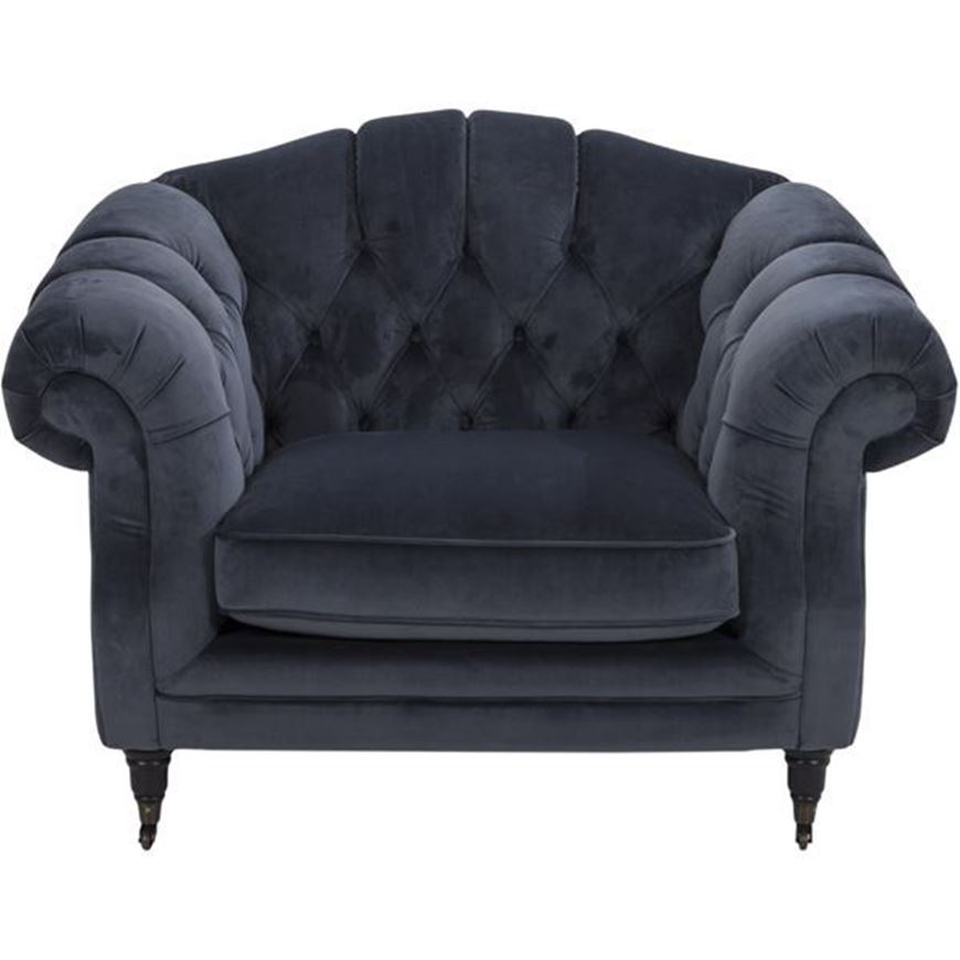 Picture of LOUIE chair 1.5 dark grey