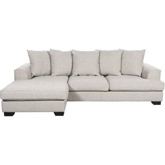Picture of KINGSTON sofa 2.5 + chaise lounge left beige