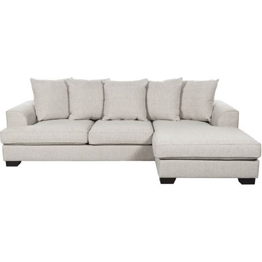 Picture of KINGSTON sofa 2.5 + chaise lounge Right beige