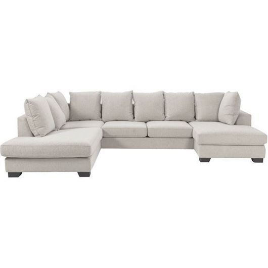 Picture of KINGSTON sofa U shape Left beige
