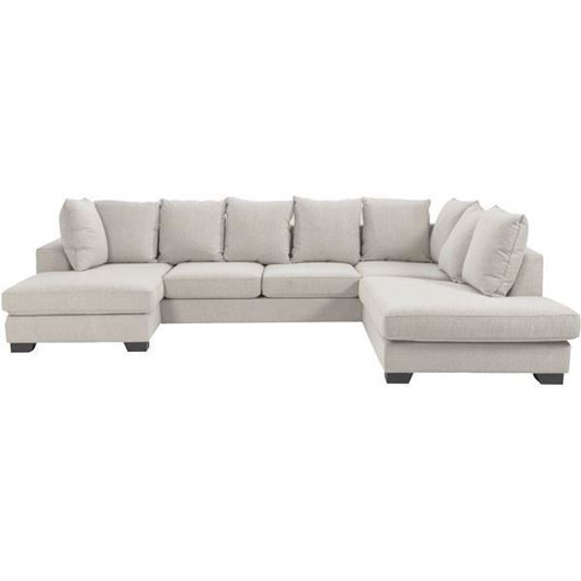 Picture of KINGSTON sofa U shape Right beige