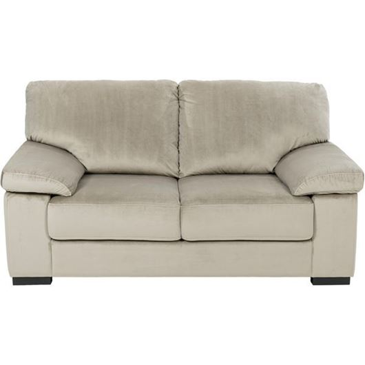 Picture of SAN sofa 2 microfibre taupe
