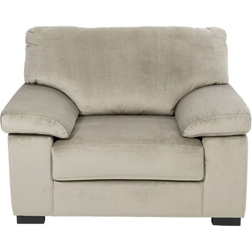 Picture of SAN chair microfibre taupe