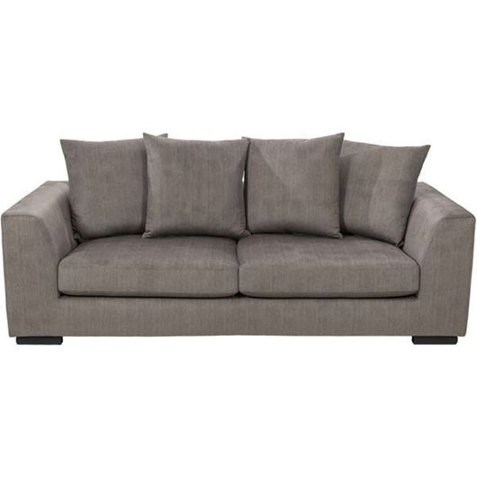Picture of PASO sofa 3 brown