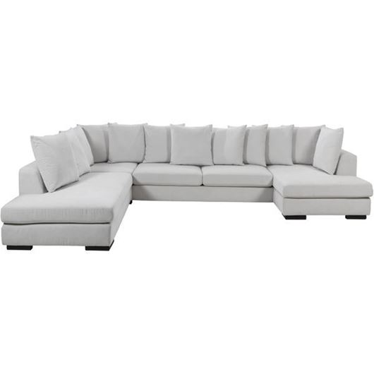 Picture of PASO sofa U shape Left white
