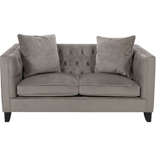 Picture of SAM sofa 2 microfibre taupe