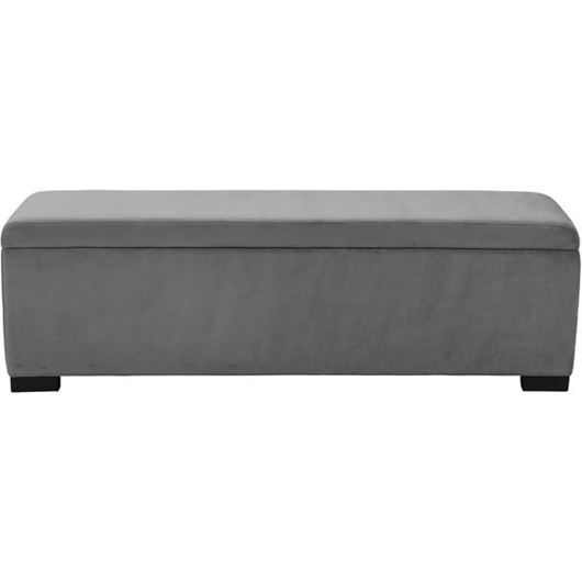 Picture of STEN stool 160x40 microfibre grey
