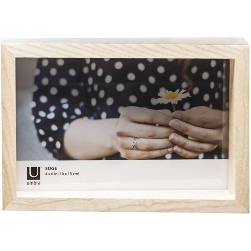 Picture of EDGE photo frame 10x15 natural