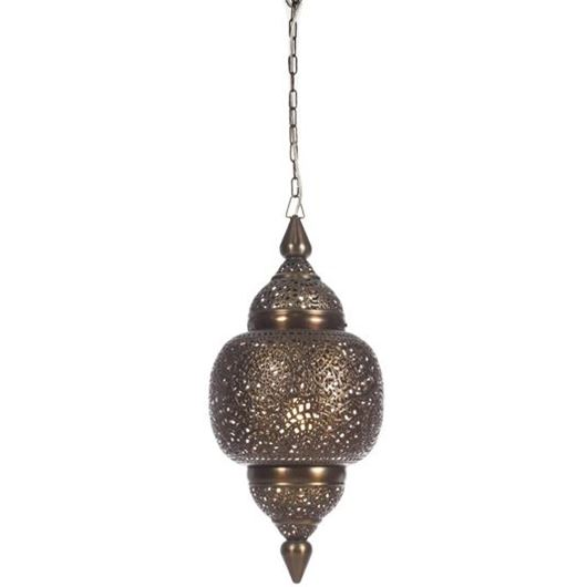 Picture of MIHIKA pendant lamp h65cm brass