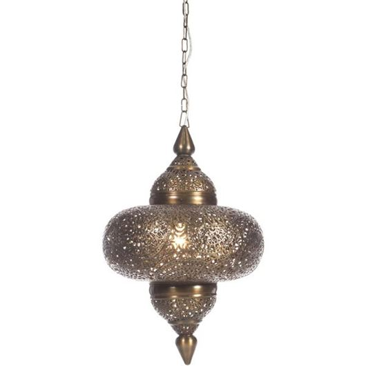 Picture of MIHIKA pendant lamp h61cm brass
