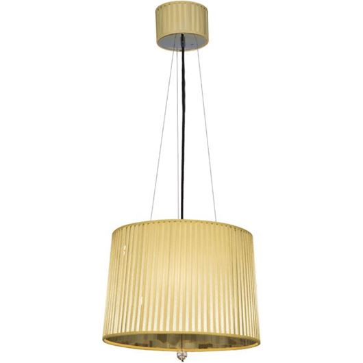 Picture of LEAN pendant lamp d43cm stainless steel/yellow