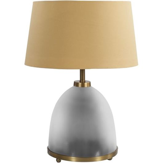 Picture of LUBNA table lamp h 56cm beige/grey
