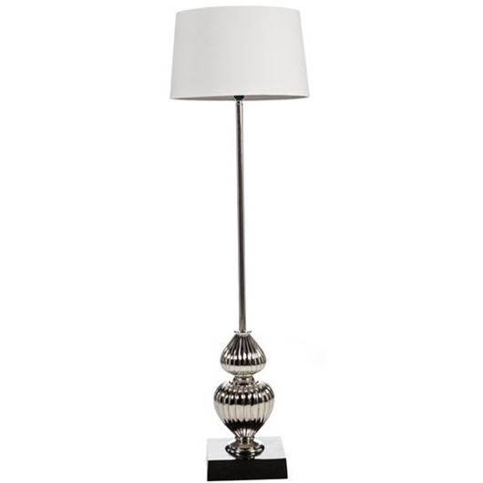 Picture of NIMRA floor lamp h155cm white/black
