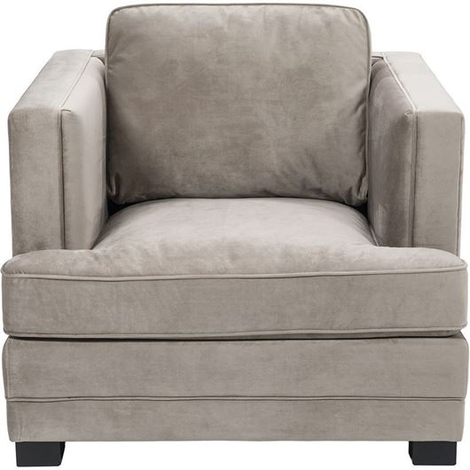 Picture of STEN chair microfibre taupe