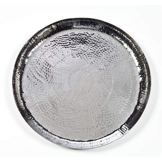 Picture of MESETA tray d55cm silver