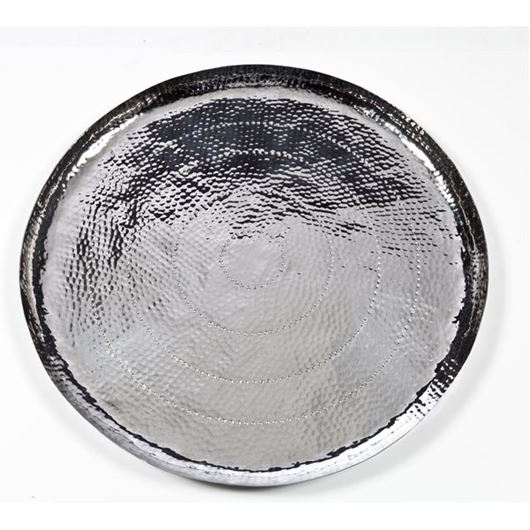 Picture of MESETA tray d75cm silver