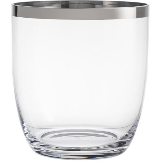 Picture of DELUXE vase h25cm clear
