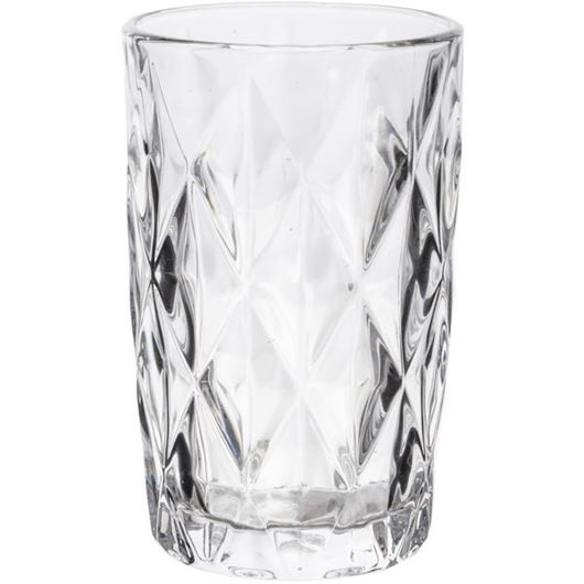 Picture of ZARIN tumbler h13cm clear