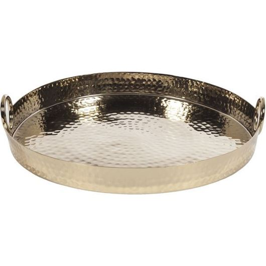 Picture of VINDA tray d40cm gold