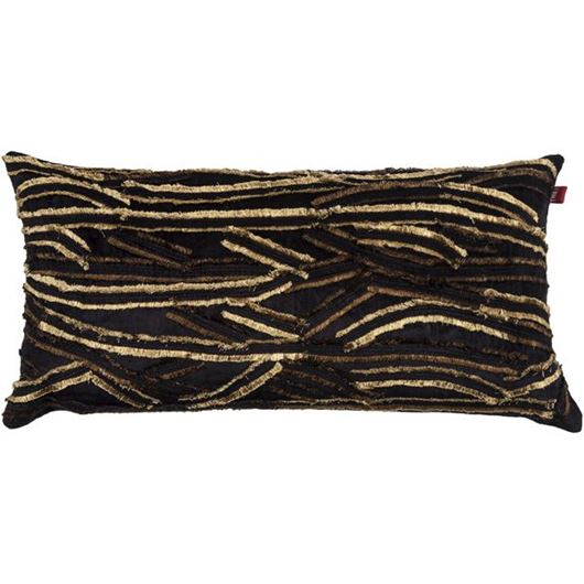 Picture of REESE cushion cover 30x60 black