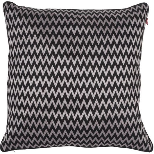 Picture of HARP cushion cover 50x50 black/grey