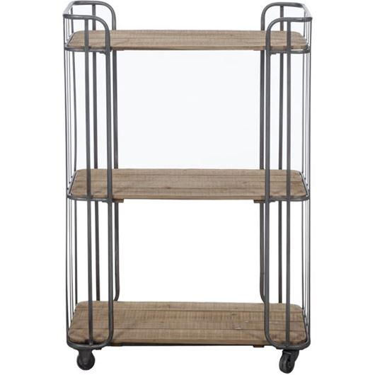 Picture of RUSTY display unit 98x68 silver