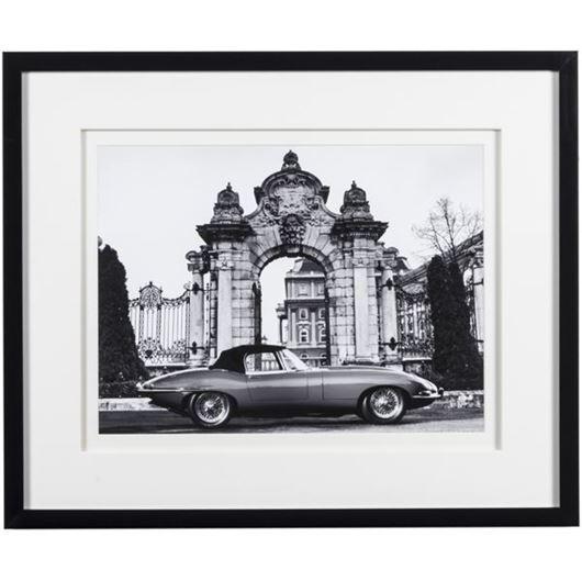Picture of Framed Print Car V 58x48 black