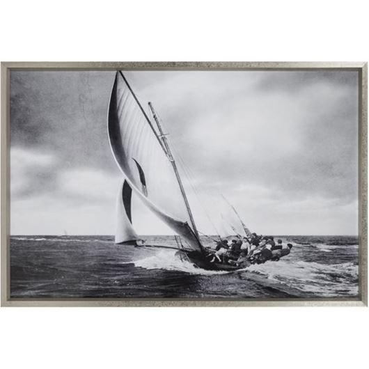 Picture of Framed Print Sailing I 156x106 silver