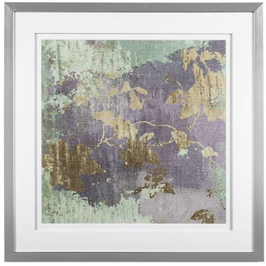 Picture of Framed Print Akaishi 69x69 silver
